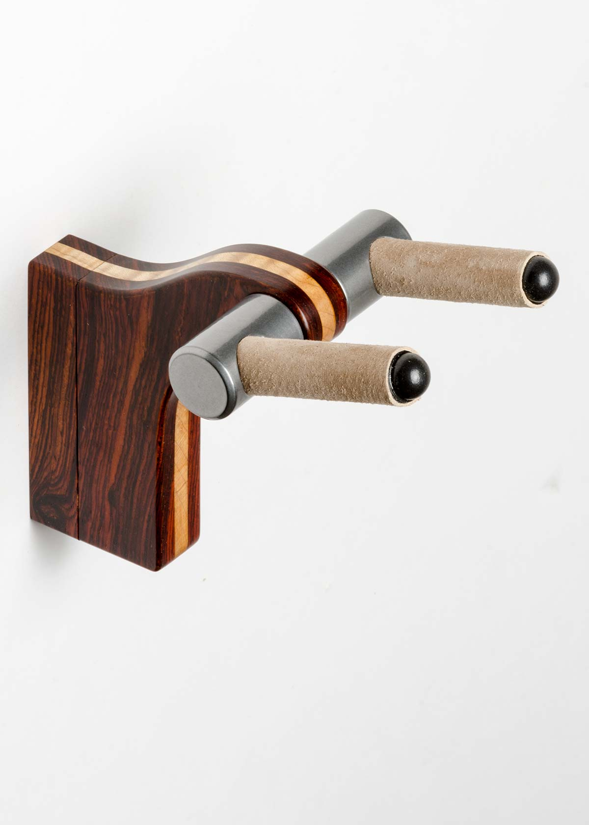 Wall Hanger in Cocobolo with Maple