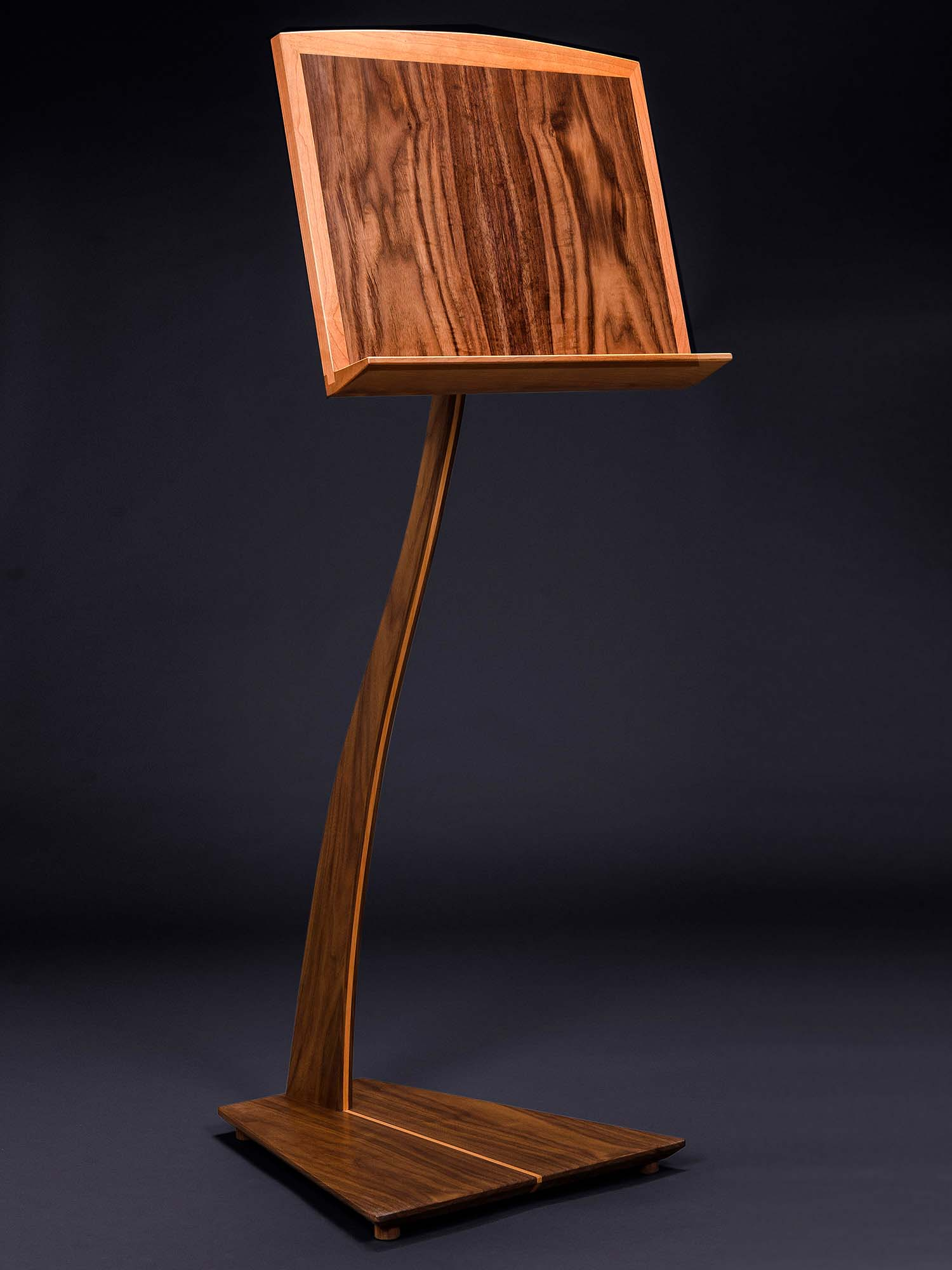 SM Music Stand in Walnut