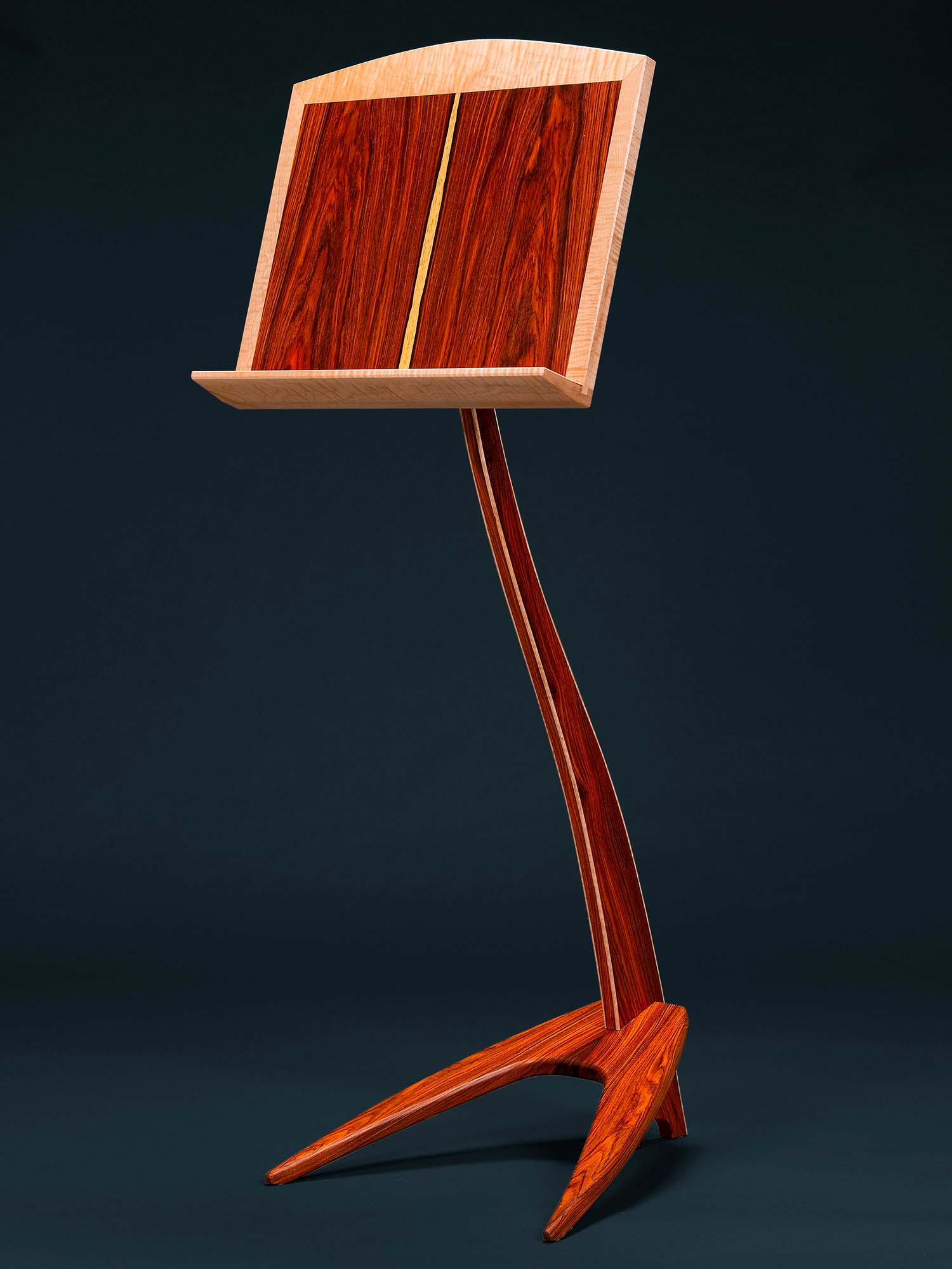 WM Music Stand in Cocobolo