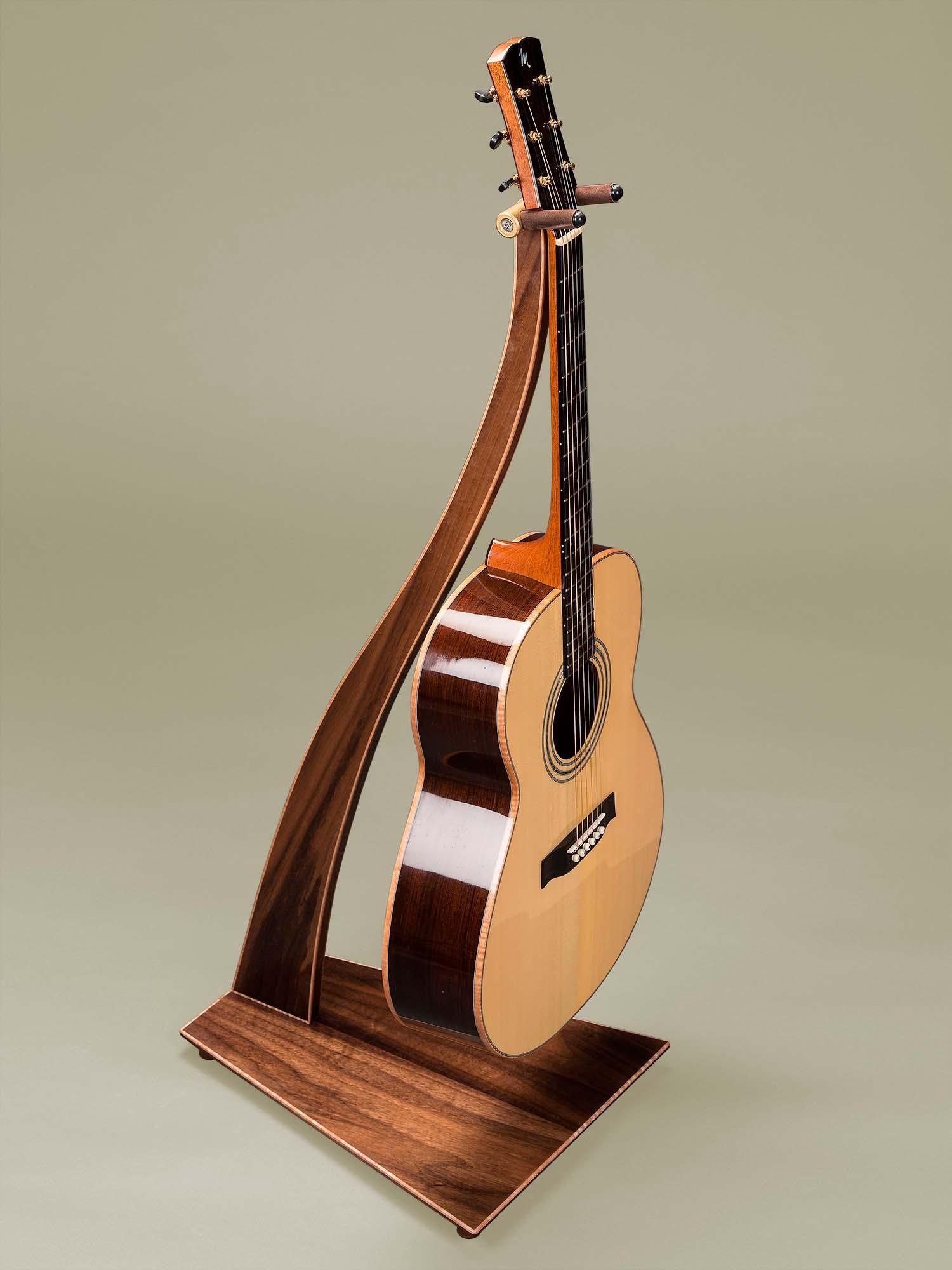 sm design guitar stands by take a stand. Black Bedroom Furniture Sets. Home Design Ideas